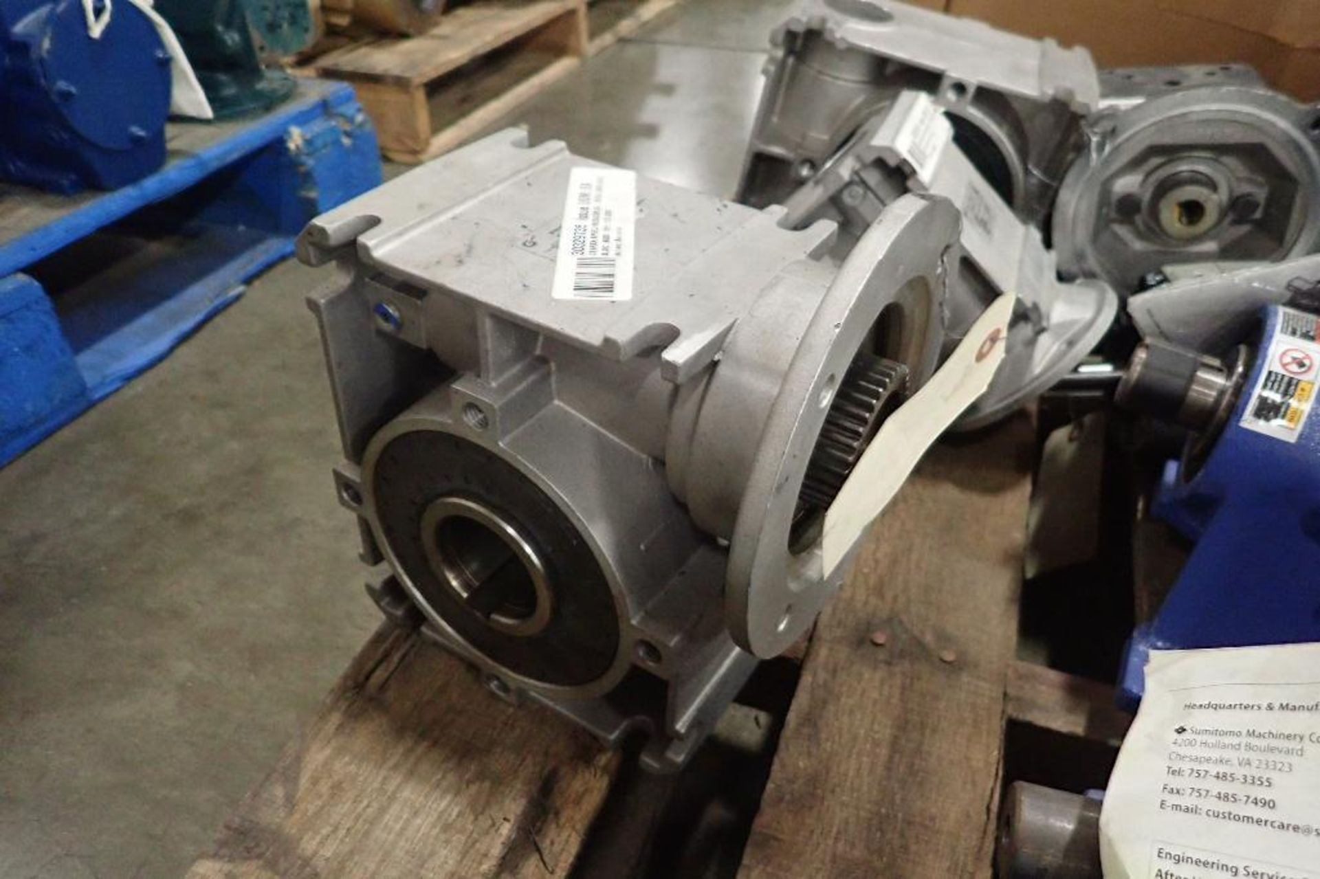 Pallet of assorted gearboxes. (See photos for additional specs). **Rigging Fee: $25** (Located in Ea - Image 29 of 65