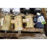 (6) assorted electric motors, 1 hp to 1.5 hp. (See photos for additional specs). **Rigging Fee: $25*