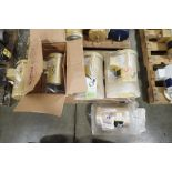 (5) New Baldor electric motors, 1 hp to 3 hp. (See photos for additional specs). **Rigging Fee: $25*