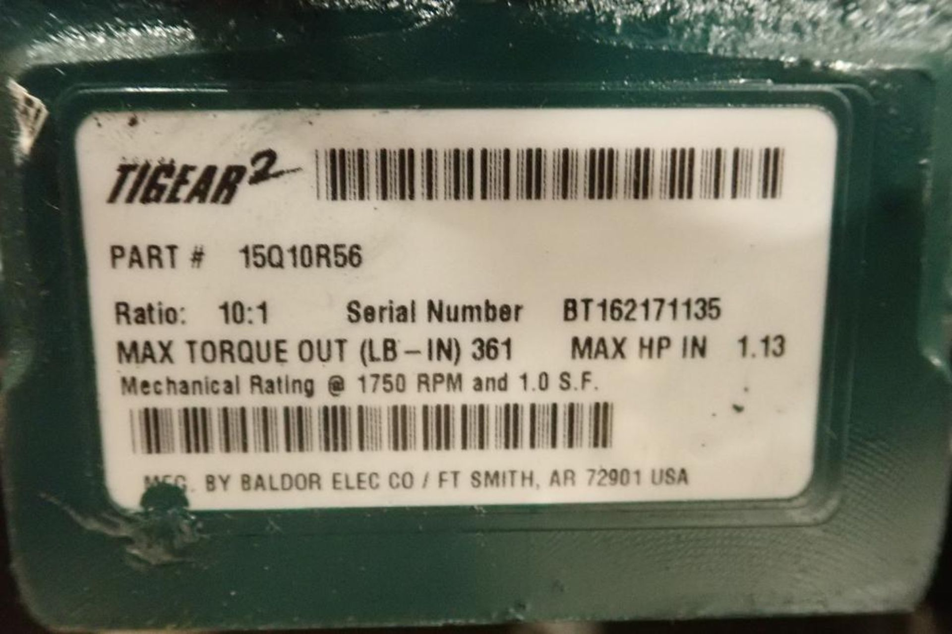 Pallet of assorted gearboxes. (See photos for additional specs). **Rigging Fee: $25** (Located in Ea - Image 58 of 65