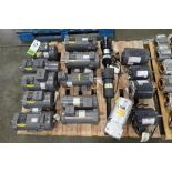 (17) assorted electric motors. (See photos for additional specs). **Rigging Fee: $35** (Located in E