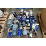 Pallet of assorted gearboxes. (See photos for additional specs). **Rigging Fee: $25** (Located in Ea