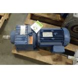 SEW 3 hp electric motor and gearbox. (See photos for additional specs). **Rigging Fee: $25** (Locate