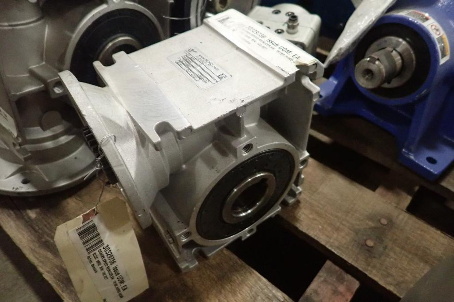 Pallet of assorted gearboxes. (See photos for additional specs). **Rigging Fee: $25** (Located in Ea - Image 36 of 65