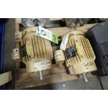 (2) Baldor 2 hp electric motors. (See photos for additional specs). **Rigging Fee: $25** (Located in