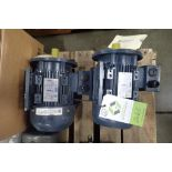 (2) Leeson 2 hp electric motors. (See photos for additional specs). **Rigging Fee: $25** (Located in
