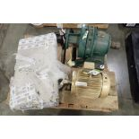 Baldor 7.5 hp electric motor, Sm-Cylco gear reducer, Grundfos pump, Ilapak covers. (See photos for a