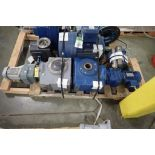 (2) Sew electric motors with gearboxes. (See photos for additional specs). **Rigging Fee: $25** (Loc