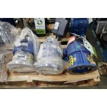 (3) Sm-Cylo gearboxes. (See photos for additional specs). **Rigging Fee: $25** (Located in Eagan, MN