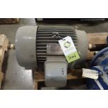 Toshiba 15 hp electric motor. (See photos for additional specs). **Rigging Fee: $25** (Located in Ea