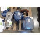 (3) assorted gear boxes. (See photos for additional specs). **Rigging Fee: $25** (Located in Eagan,