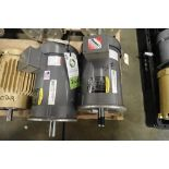 (2) Baldor 5 hp electric motors. (See photos for additional specs). **Rigging Fee: $25** (Located in