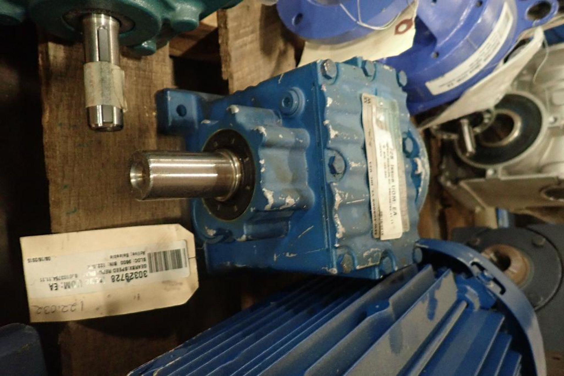 Pallet of assorted gearboxes. (See photos for additional specs). **Rigging Fee: $25** (Located in Ea - Image 56 of 65
