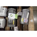 (2) Baldor electric motors, 3/4 hp and 1 hp. (See photos for additional specs). **Rigging Fee: $25**