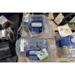 (2) New 1/2 hp Leeson electric motors. (See photos for additional specs). **Rigging Fee: $25** (Loca