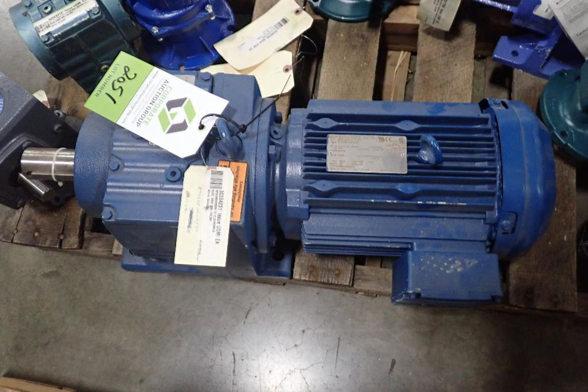 Pallet of assorted gearboxes. (See photos for additional specs). **Rigging Fee: $25** (Located in Ea - Image 61 of 65