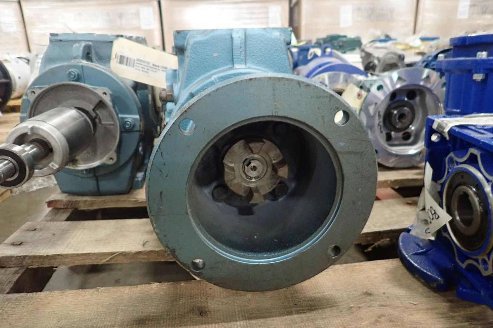 Pallet of assorted gearboxes. (See photos for additional specs). **Rigging Fee: $25** (Located in Ea - Image 14 of 65