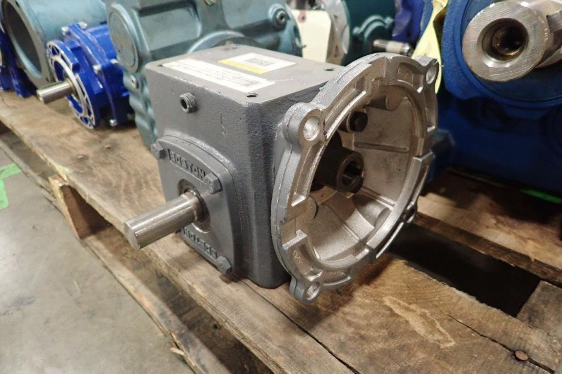 Pallet of assorted gearboxes. (See photos for additional specs). **Rigging Fee: $25** (Located in Ea - Image 2 of 65