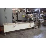 Fuji foremost horizontal form-fill-seal machine, Model FW3400, SN 627102, 14 in. lug infeed, 17 in.