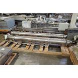 SS tube-in heat exchanger, 96 in. long x 8 in. dia, Model E696 CONCENTRATOR, 115 PSI @ 353 F **Riggi