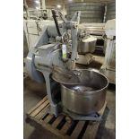 Artofex double arm dough mixer, SS bowl, 27 in. dia x 18 in. deep **Rigging FEE: $50 **