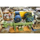 Simbianca rotary lobe blower package, Model GMV 50, SN 1109, Robuschi lobe blower, Type RB50C/V, SN