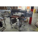 AMF bagel slicer, remanufactured by Topaz Mondial in. 2007, job no 2647, mid steel frame, on wheels