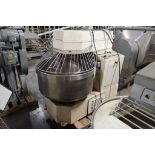 Empire spiral mixer, Model 200 A, SN 9410467, SS bowl 36 in. dia x 16 in. tall **Rigging FEE: $50 **