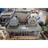 Schwitzer rotary lobe blower, Model 156630, SN B2879-03, Duraflo rotary lobe blower Model 4056VT, SN