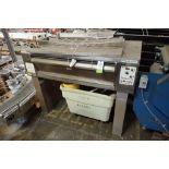 1996 Tom Chandley stone plate oven, Model MOD-MK4-MTS-1-3-8, SN 12157, 54 in. wide x 30 in. deep bak