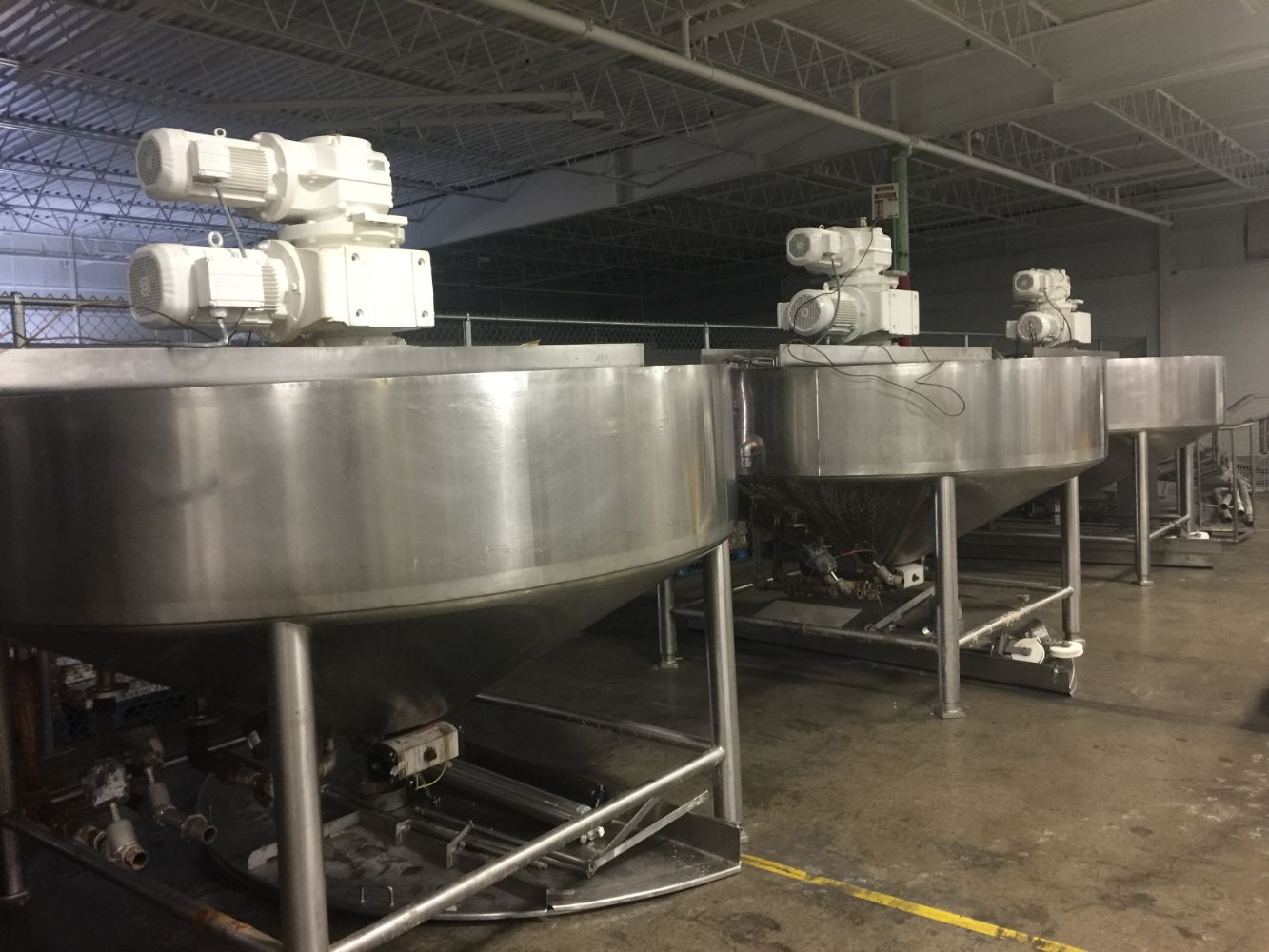 Conagra Brands 13 location auction of surplus food manufacturing equipment. Corporate Auction Group
