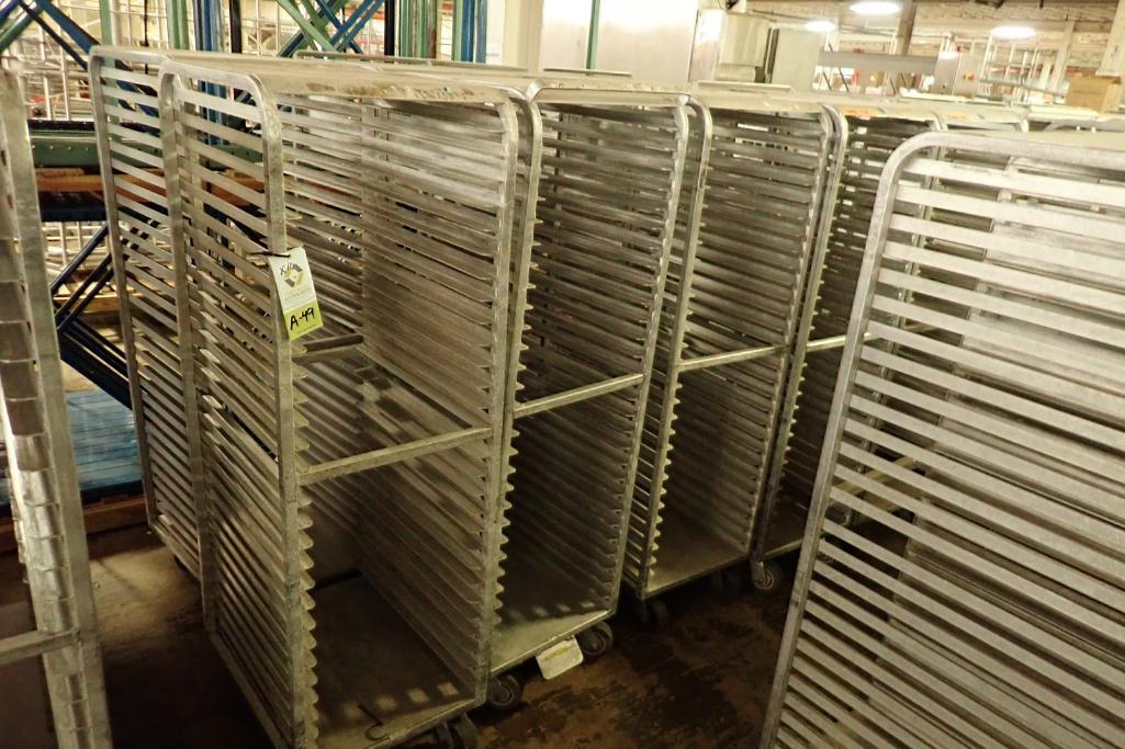 Lot 49 - Aluminum bakery rack {Located in Indianapolis, IN}
