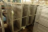 Lot 49 - Aluminum bakery rack {Located in Indianapolis, IN}