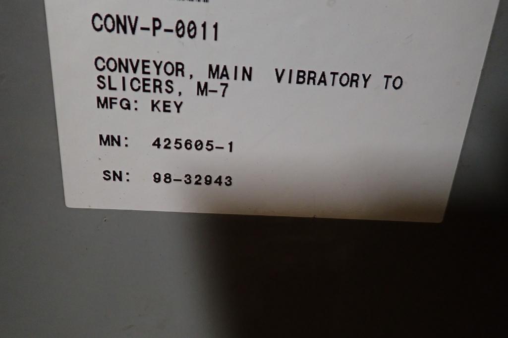Lotto 14 - Key iso-flo vibrator conveyor {Located in Indianapolis, IN}