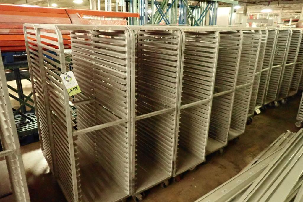Lot 48 - Aluminum bakery rack {Located in Indianapolis, IN}