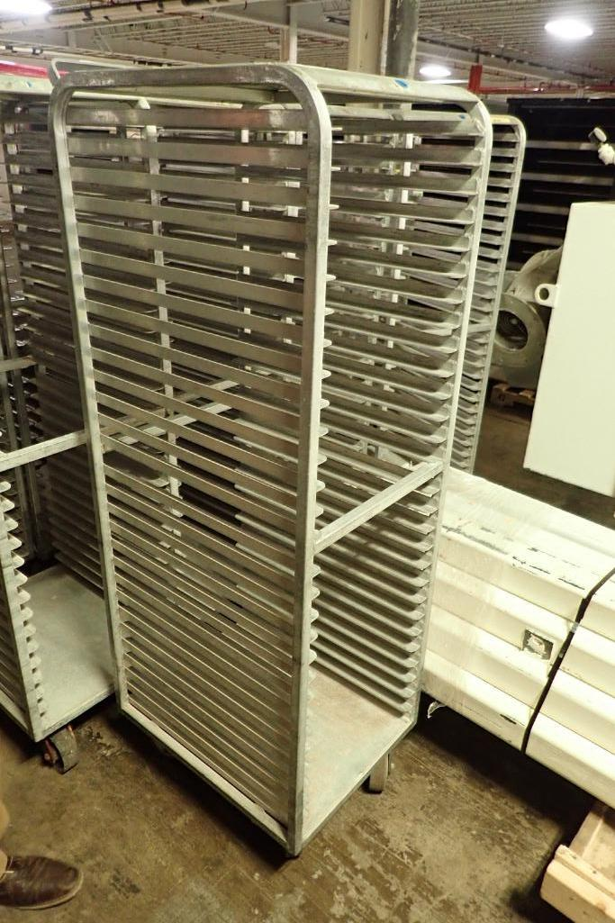 Lot 53 - Aluminum bakery rack {Located in Indianapolis, IN}