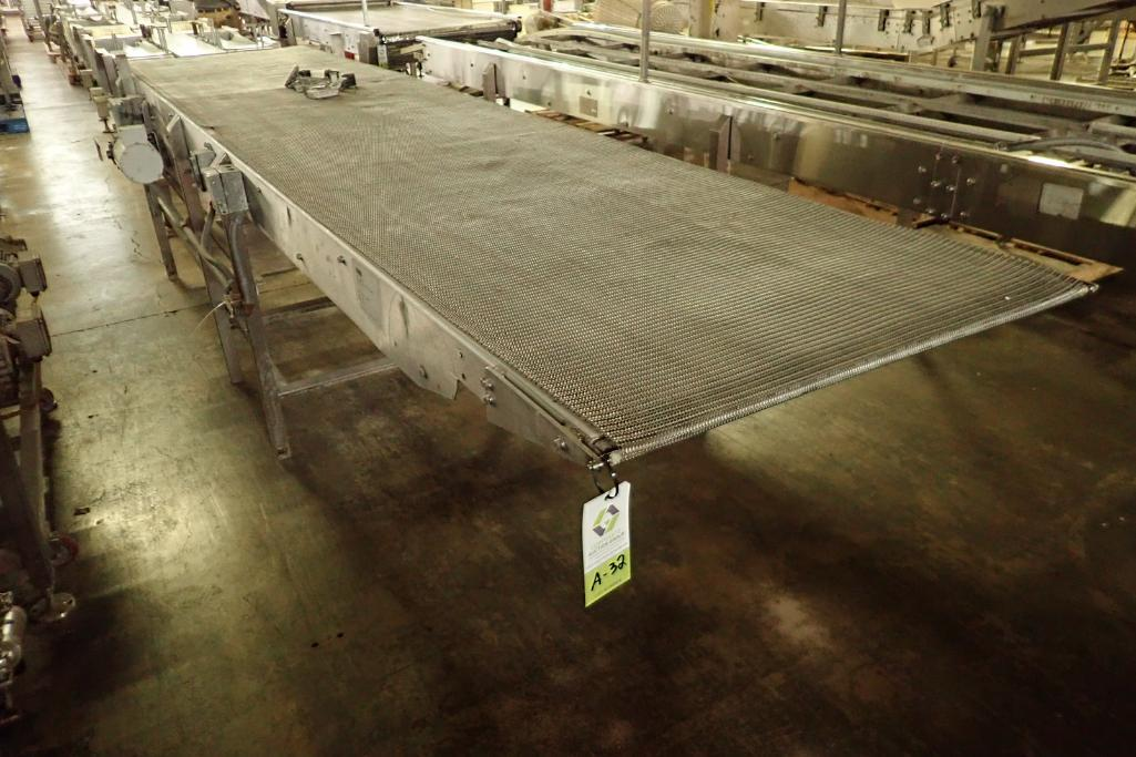 Lot 32 - SS conveyor {Located in Indianapolis, IN}