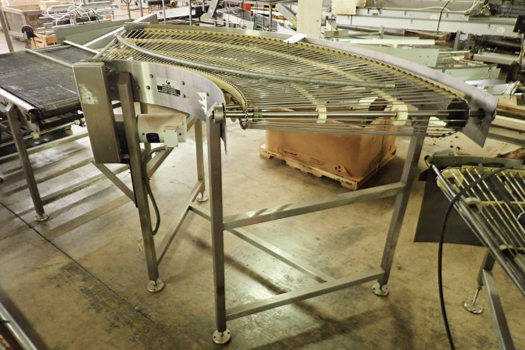 Lot 22 - Keenline 90 degree conveyor {Located in Indianapolis, IN}