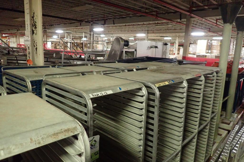 Lot 52 - Aluminum bakery rack {Located in Indianapolis, IN}