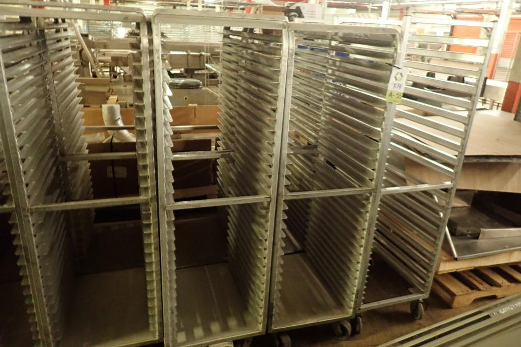 Lot 55 - Aluminum bakery rack {Located in Indianapolis, IN}