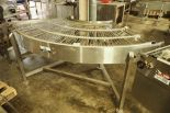 Lot 18 - Keenline SS 90 degree conveyor {Located in Indianapolis, IN}