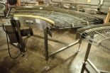Lot 20 - Keenline SS 90 degree conveyor {Located in Indianapolis, IN}