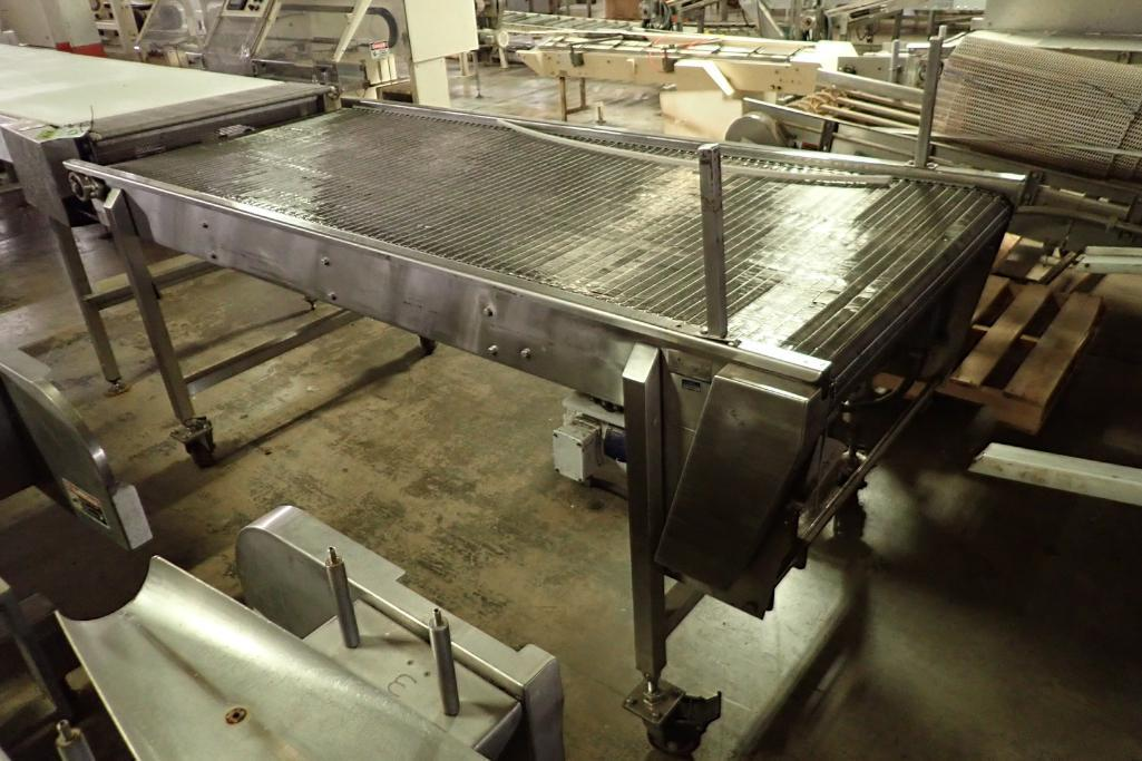 Lot 33 - Kleenline SS conveyor {Located in Indianapolis, IN}
