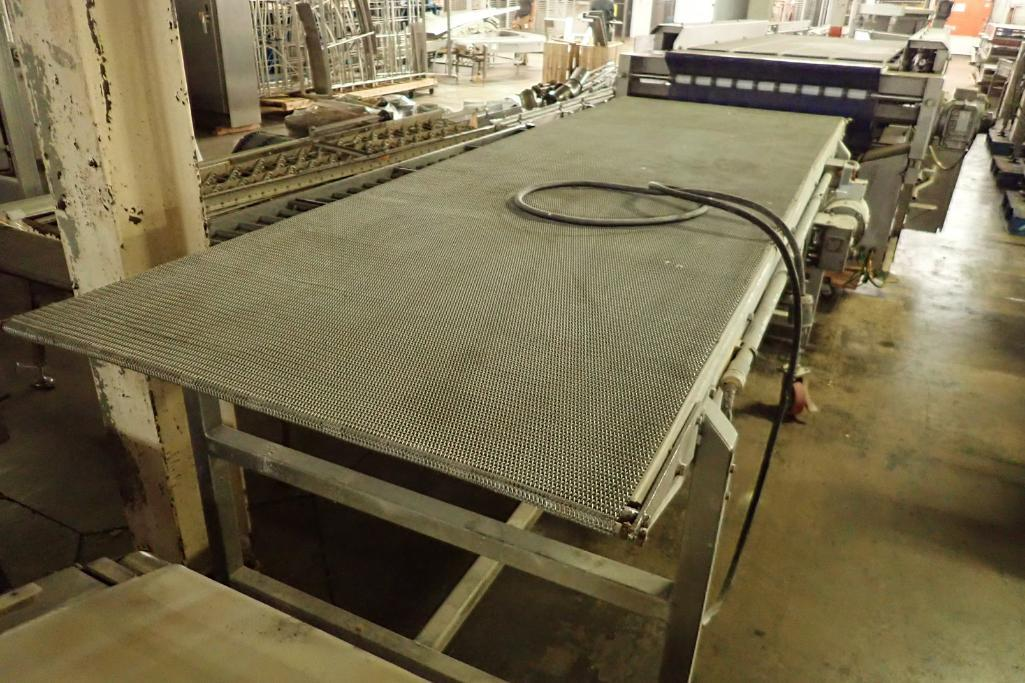 Lot 39 - SS conveyor {Located in Indianapolis, IN}