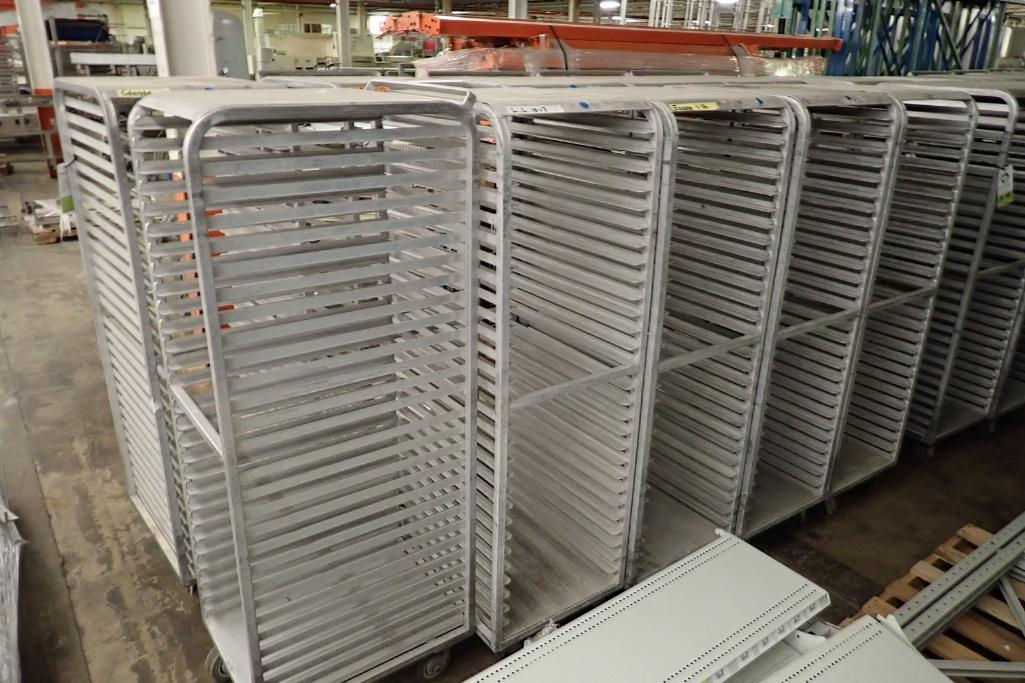 Lot 47 - Aluminum bakery rack {Located in Indianapolis, IN}