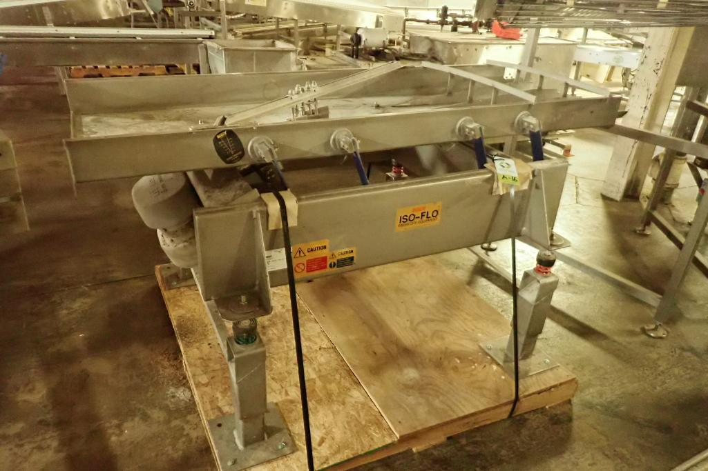 Lotto 16 - Key iso-flo vibrator conveyor {Located in Indianapolis, IN}