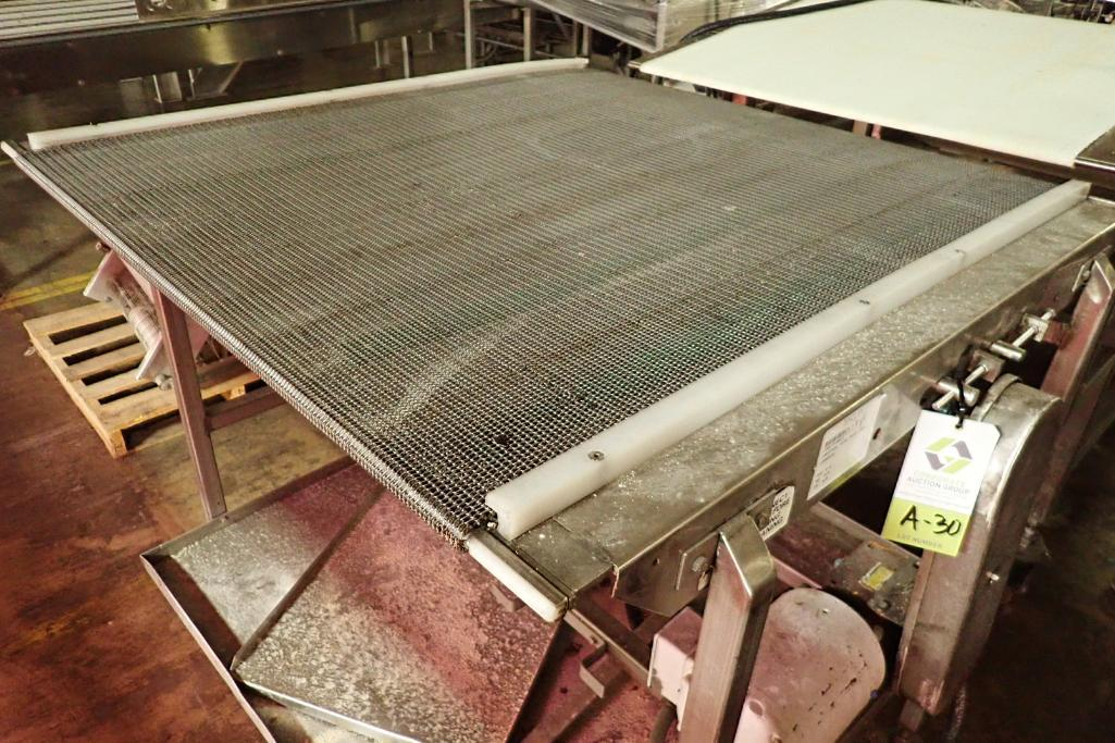 Lot 30 - SS conveyor {Located in Indianapolis, IN}