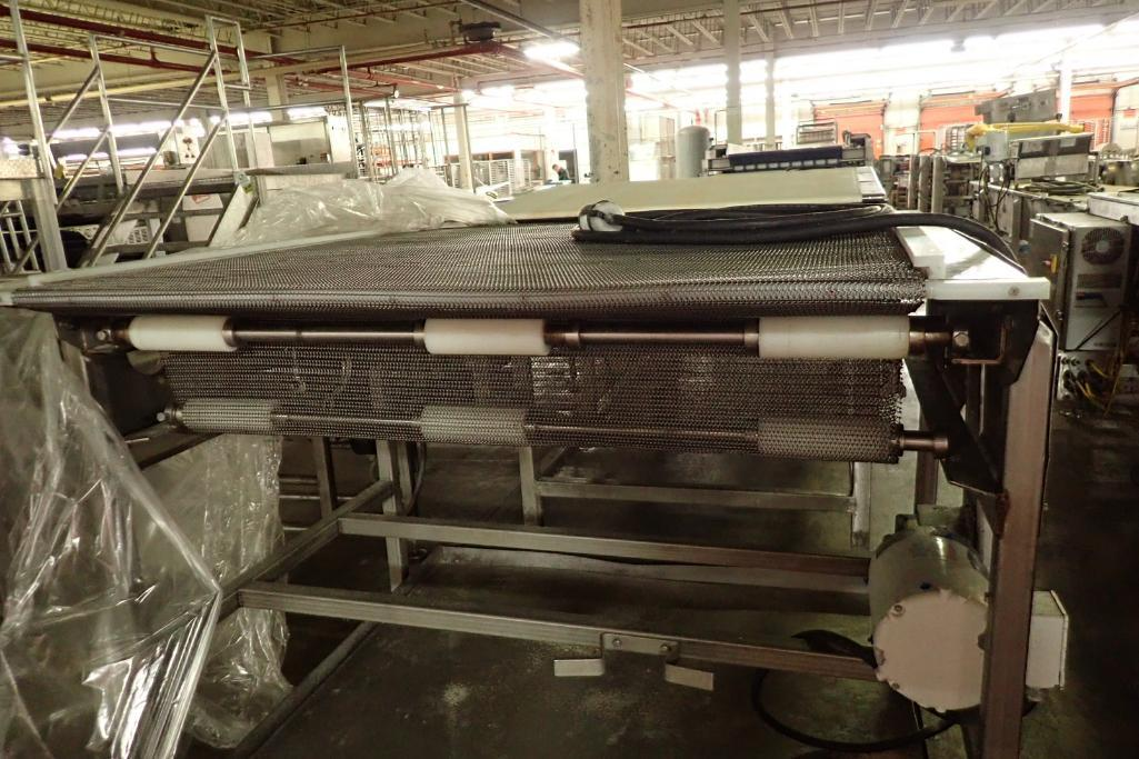 Lot 41 - SS conveyor {Located in Indianapolis, IN}