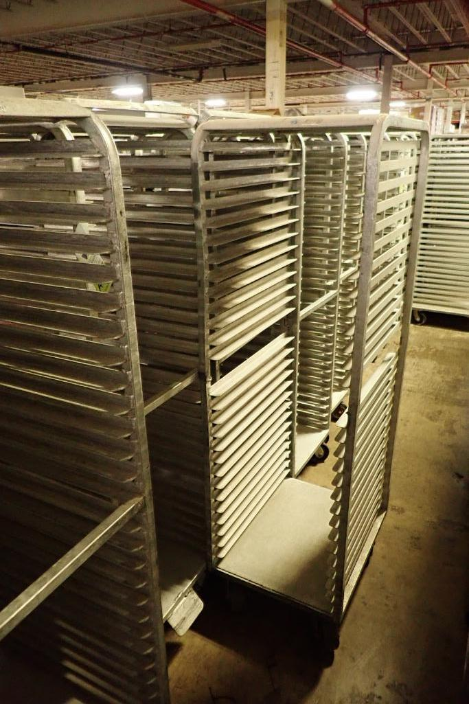 Lot 50 - Aluminum bakery rack {Located in Indianapolis, IN}