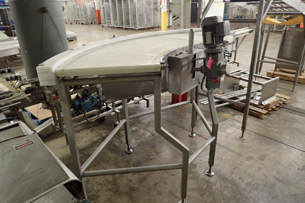 Lot 38 - 2014 Kofab 90 degree belt conveyor {Located in Indianapolis, IN}